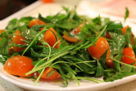 салат из рукколы рецепт