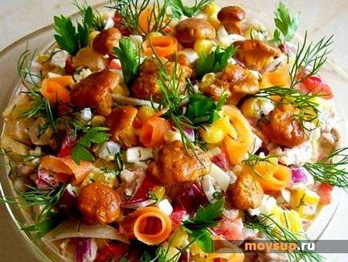 салат рыжик классический рецепт удалось сочетать роскошь