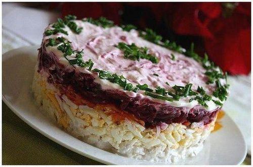 Салат генерал рецепт пошагово