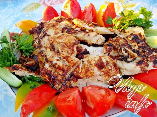 Рецепт шашлыка из курицы на майонезе