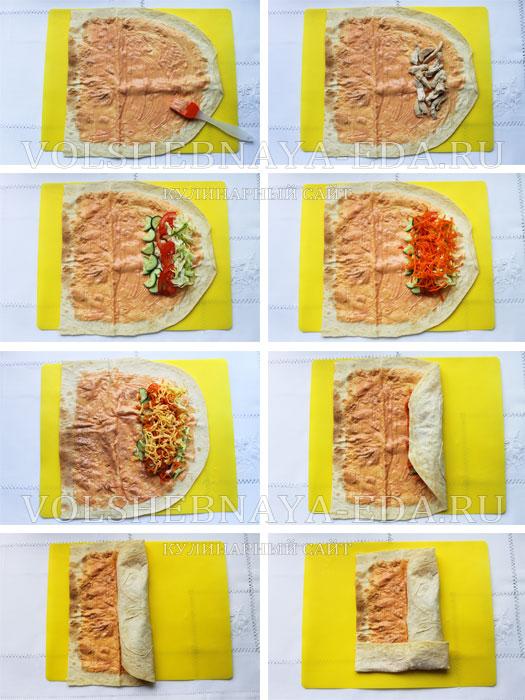 Как приготовить шаурму пошаговое