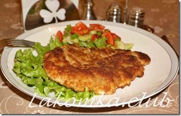 шницель свиной рецепт на сковороде с фото