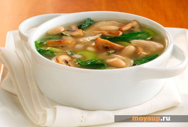 грибной суп с курицей рецепт из замороженных грибов