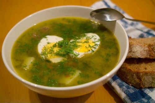 суп щавельный рецепт от анастасии скрипкиной