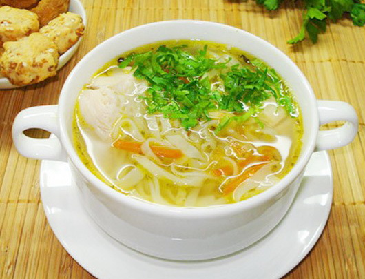 Суп с вермишелью и мясом рецепт пошагово