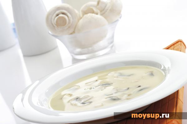 Суп пюре из шампиньонов с сливками