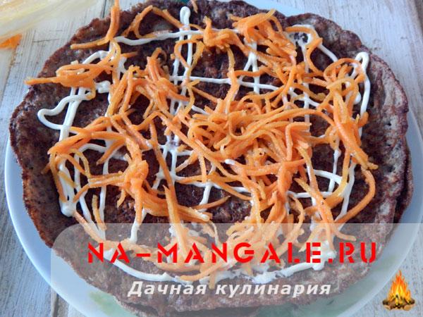 Печеночный торт пп рецепт пошагово