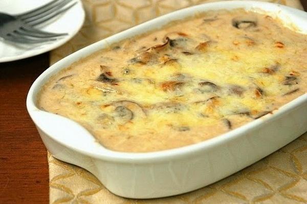 Жульен с курицей и грибами пошаговый рецепт с в горшочках