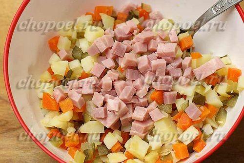 салат за минутку рецепт