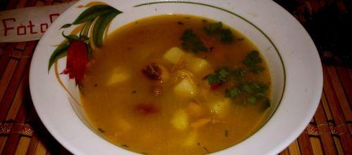 Суп из красной фасолью и мясом рецепт
