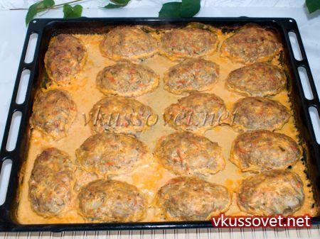 рецепт кабачков в духовке в сметанном соусе
