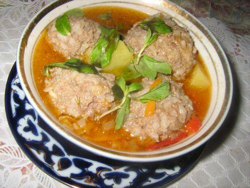 Тефтелевый суп рецепт с фото пошагово