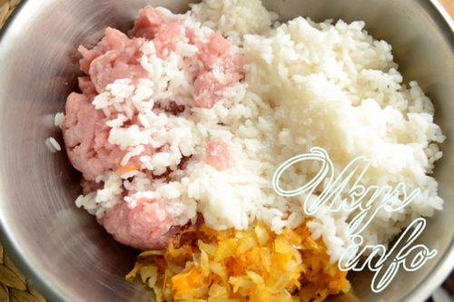 Как приготовить тефтели с рисом и фаршем фото