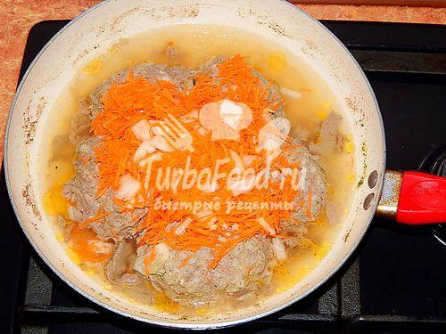 Как потушить голубцы на сковороде рецепт с пошагово