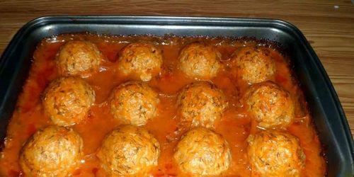Тефтели в томатном соусе видео рецепт