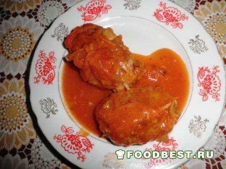 Как сделать голубцы в томатном соусе