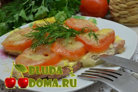 Мясо по-французски классический рецепт с фото пошагово