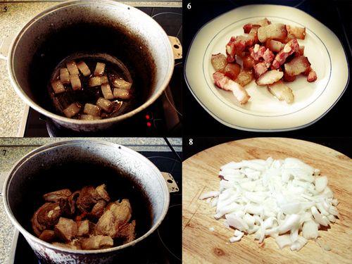 Рецепт штруделей с мясом с пошагово