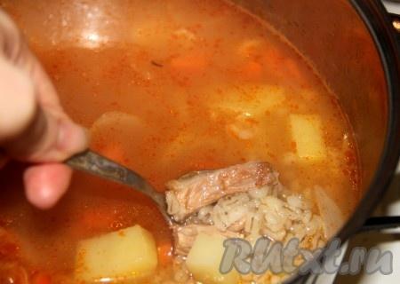 Суп рассольник с перловкой вкусный рецепт с пошагово в