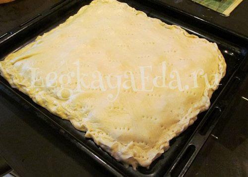 Пирог с рубленым мясом в духовке пошаговый рецепт