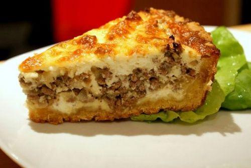 Как сделать пирог из картошки с грибами