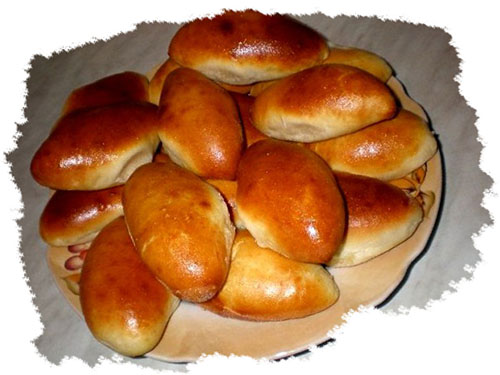 Пирожки печеные с фаршем пошаговый рецепт