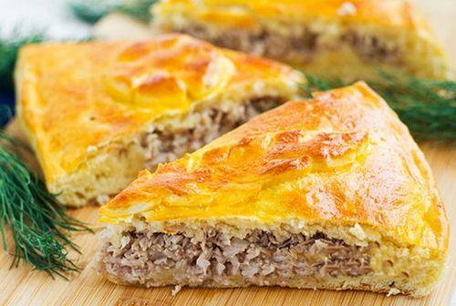 Закрытые пироги с мясом рецепты