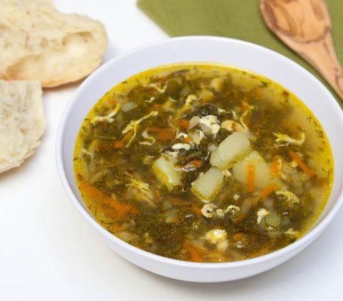 суп щавелевый с тушенкой рецепт с фото пошагово
