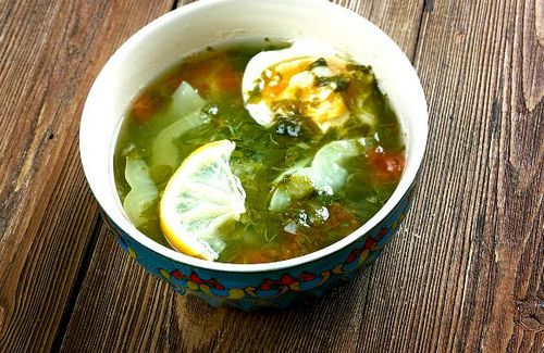 Суп со щавелем и яйцом рецепт с пошагово