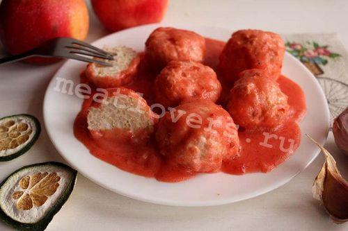 Тефтели рецепт без томатного соуса