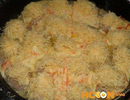 Рецепт ежики в сметанном соусе в духовке рецепт пошагово в