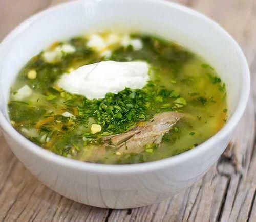 Как варить зеленый борщ с щавелем и яйцом рецепт с пошагово с