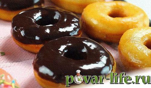 Рецепт пончиков в домашних условиях на дрожжах