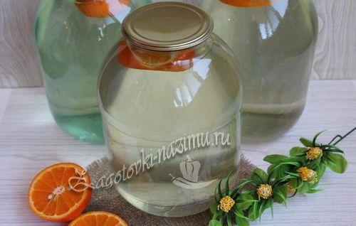 рецепт закатки березового сока без лимона